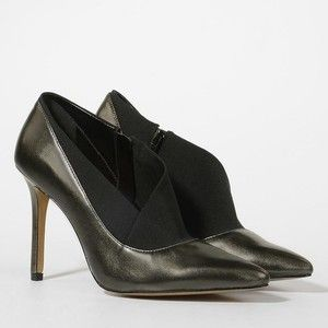 CHARLES & KEITH Duo-Tone Pointed Heels