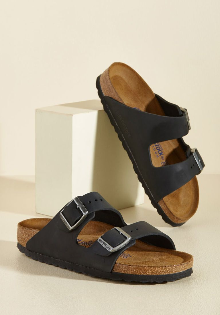 Strappy Camper Sandal in Black - Narrow in 38 - Flat - 0-1 by Birkenstock  from ModCloth f695f6b8b65