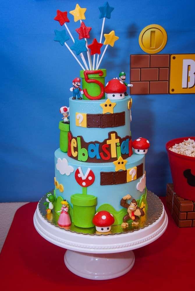 Super Mario Birthday Party Ideas Super mario bros Mario bros and