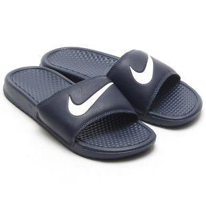 f20be4c6df87 Nike Benassi Swoosh Slide Sandals 312618 416 Size 16