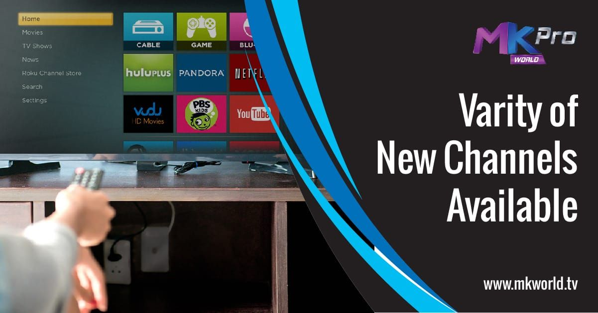 App to and Channels on AndroidTV. Its