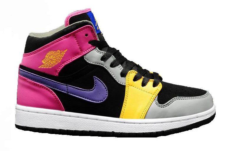 outlet store sale 00f59 56bcd Air Jordan IAJ1 Mid (GS) - Nike Enfant Jordan Baskets Pas Cher