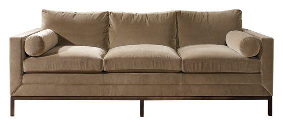 Bauhaus Sofa Bronze Velvet Dering Hall Modern sofa