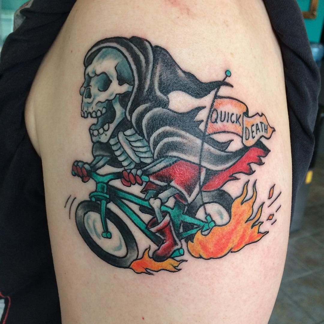 95+ Best Grim Reaper Tattoo Designs & Meanings (2019