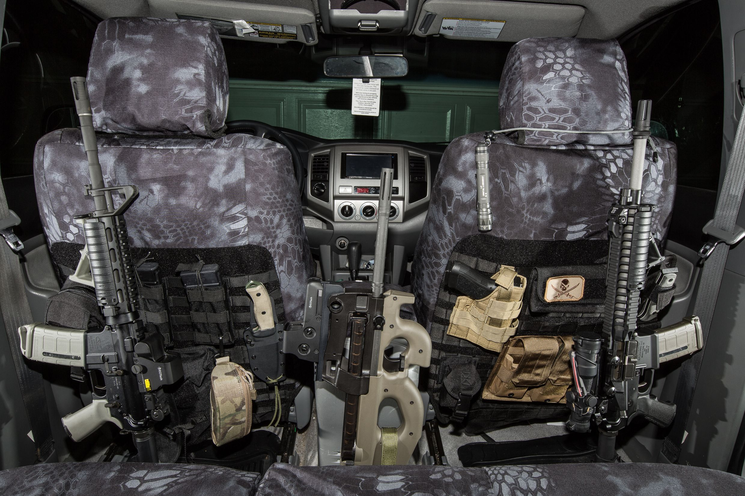 Bugout Vehicle Interior Kryptek Covers By King S Arsenal Bug Out Vehicle Tactical Truck Survival