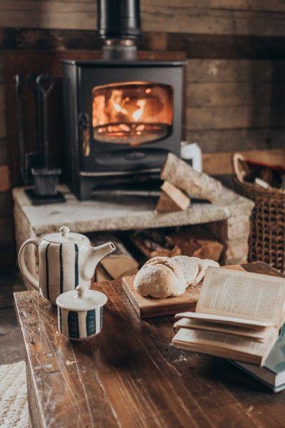 48 Cozy Rustic Farmhouse Winter Decorating Ideas