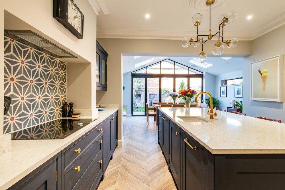 Surrey Kitchen Herringbone Kitchens Kitchensuppliers Minimalist Kitchen Design Modern Outdoor Kitchen Minimalist Kitchen