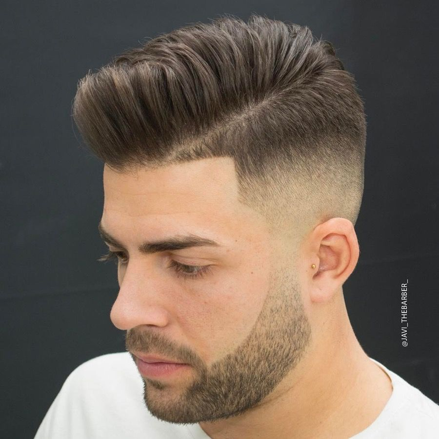 11 Pompadour Fade Haircuts That Look Amazing High Fade Haircut Comb Over Fade Haircut Mens Haircuts Fade