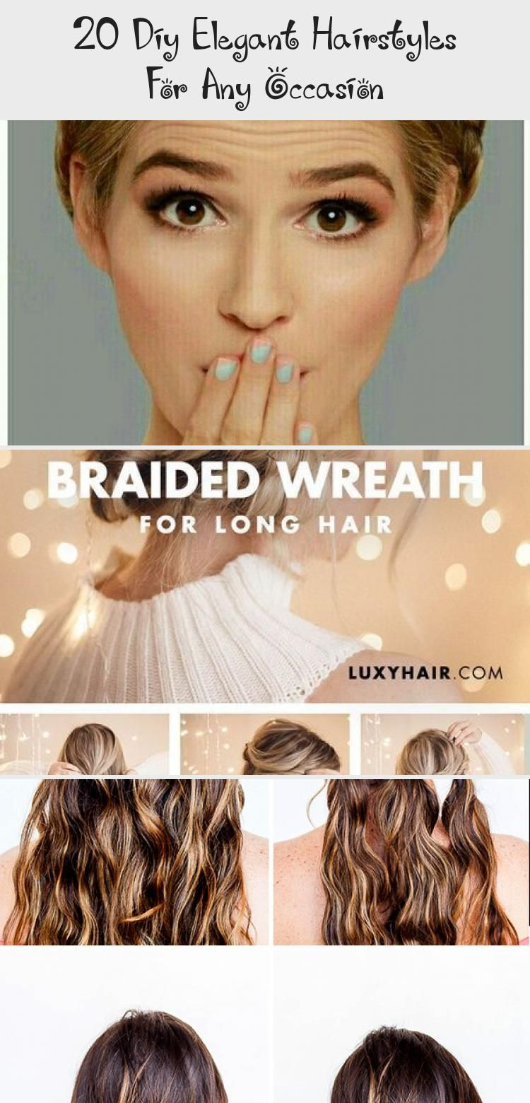 18 Diy Elegant Hairstyles For Any Occasion   Elegant hairstyles ...