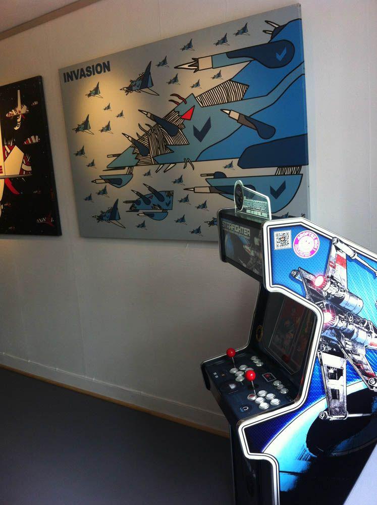 Mini Arcade Starfighter Galerie Du Pont Neuf Paris France Www The Arcade Company Com