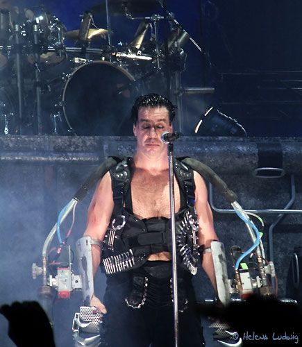 Rammstein´s Till Lindemann by Helena Ludwig