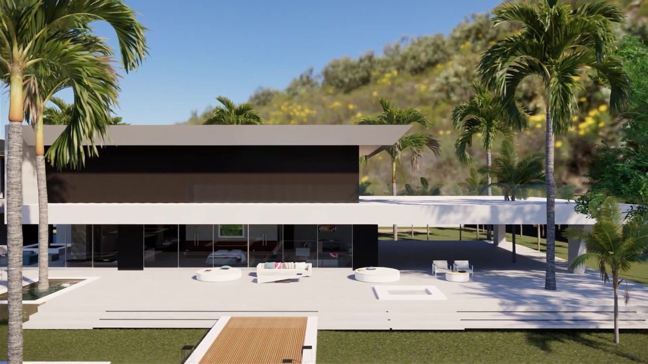 Modern Villas designs in different material combinations ...