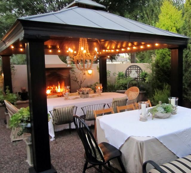 I Love This Pretty Outdoor Eating Area Outdoor Dining Spaces Outdoor Dining Outdoor Eating Spaces