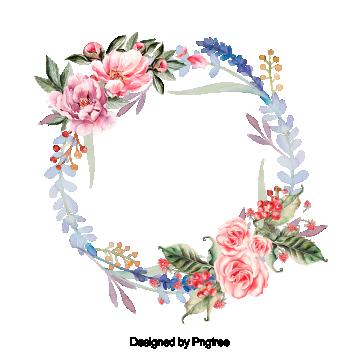 아름다운 페인트 수채화 꽃 화환 꽃 화환 부르고뉴무료 다운로드를위한 Png 및 Psd 파일 Floral Wreath Watercolor Painted Floral Wreath Floral Background