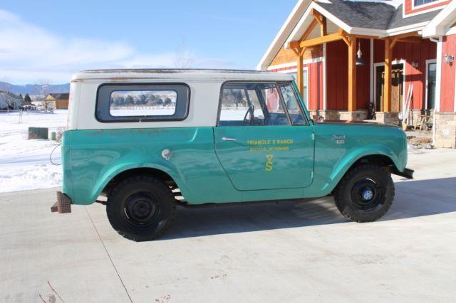 1963 Ih Scout 80 36k Original Miles Original Paint No Reserve