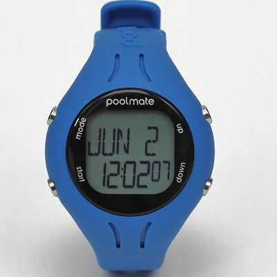 Training Aids 159175: Swimovate Poolmate2 Watch Blue - Authorized Dealer BUY IT NOW ONLY: $95.0