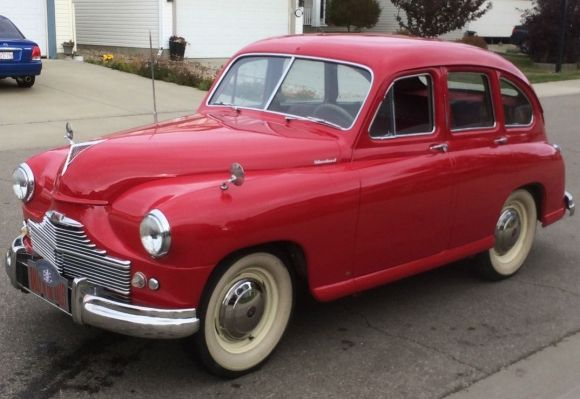 Never Seen One: 1951 Standard Vanguard Beetleback