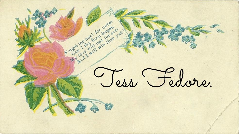 Gilded Days: DIY: Make Your Own Victorian Calling Card | AHG ...