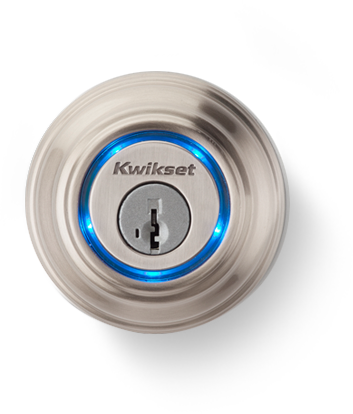 """The Kevo is a device (not yet released) that will allow you to unlock your regular lock door with your smartphone. No need to fumble with keys, just unlock using the app. You can even send """"e Keys"""" to people with smartphones and allow them to open your door.  Concerns about safety...well it can't be any more to worry about than someone picking your lock. Which is probably easier than hacking your phone."""
