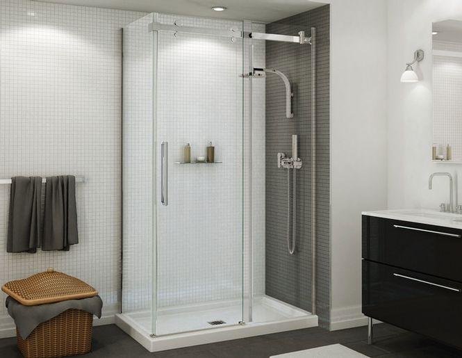 porte de douche coulissante 60 salle de bain salle de lavage pinterest douche salle de. Black Bedroom Furniture Sets. Home Design Ideas