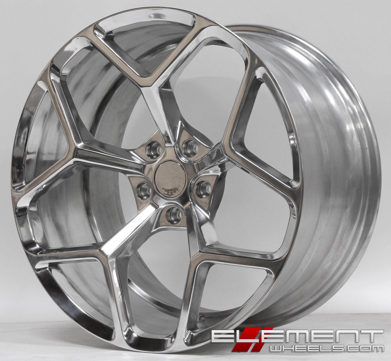 20x10 Mrr 228 Camaro Z28 Replica Wheels Polished Wheels