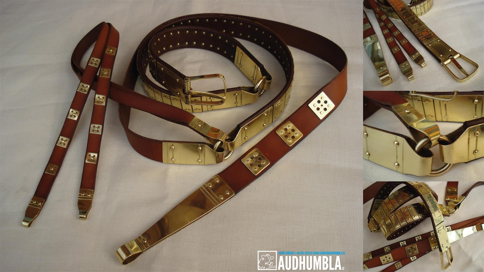 Viking lamellar belt based on original from