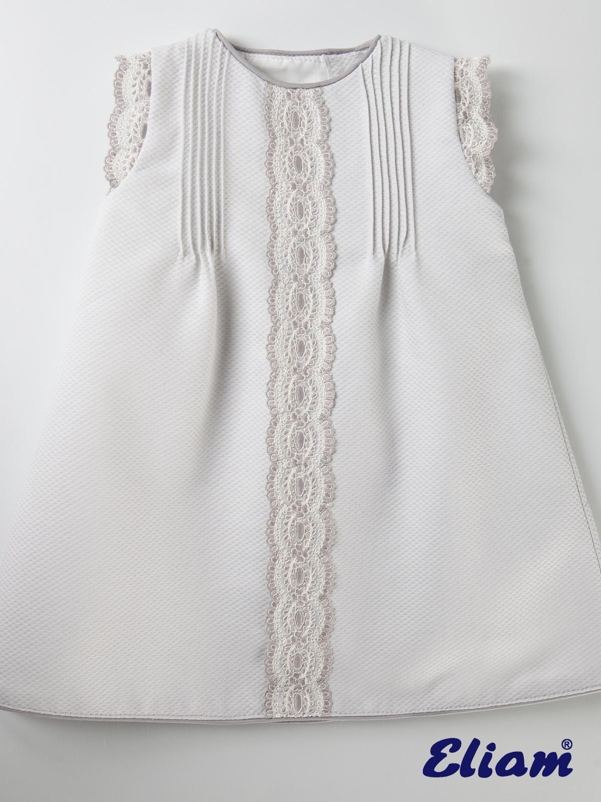 Vestido Piqué Gris Claro - Productos bebé de siempre - Bebé de ...