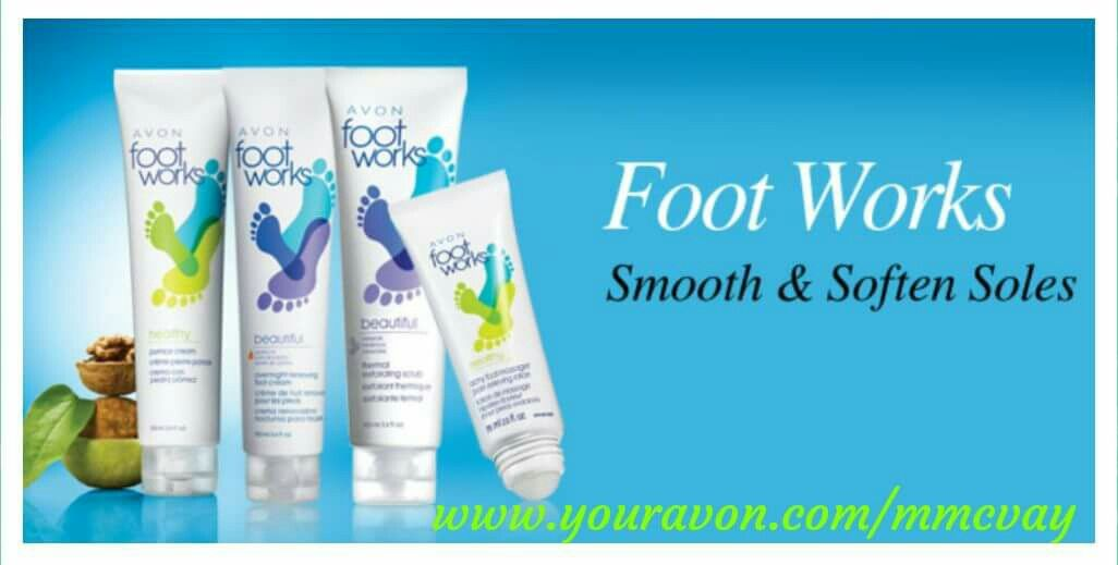 Pin by Marsha McVay on I'm your AVON Lady Foot works