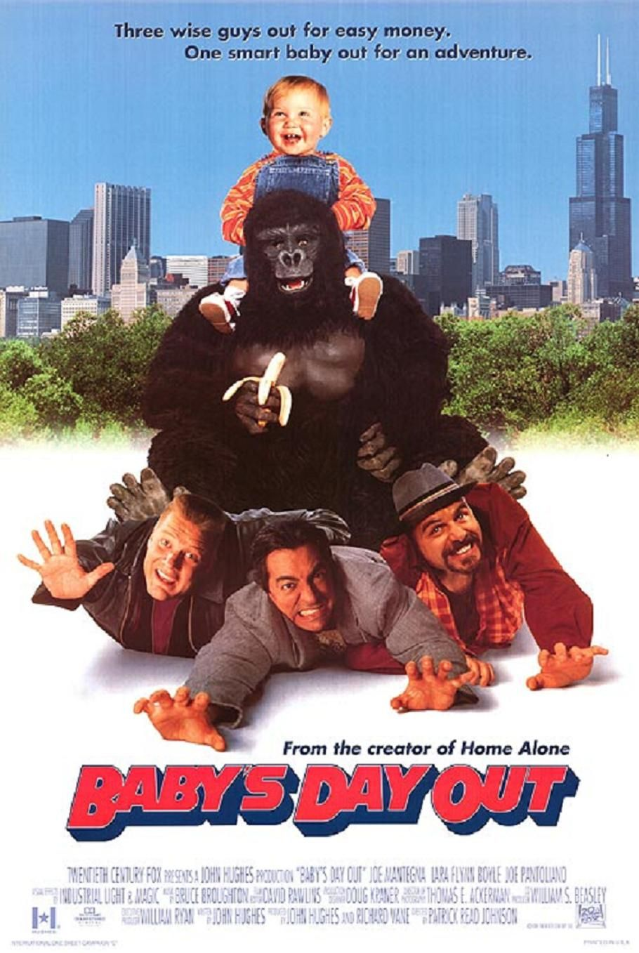 Baby S Day Out With Images Baby S Day Out Best Movie Posters