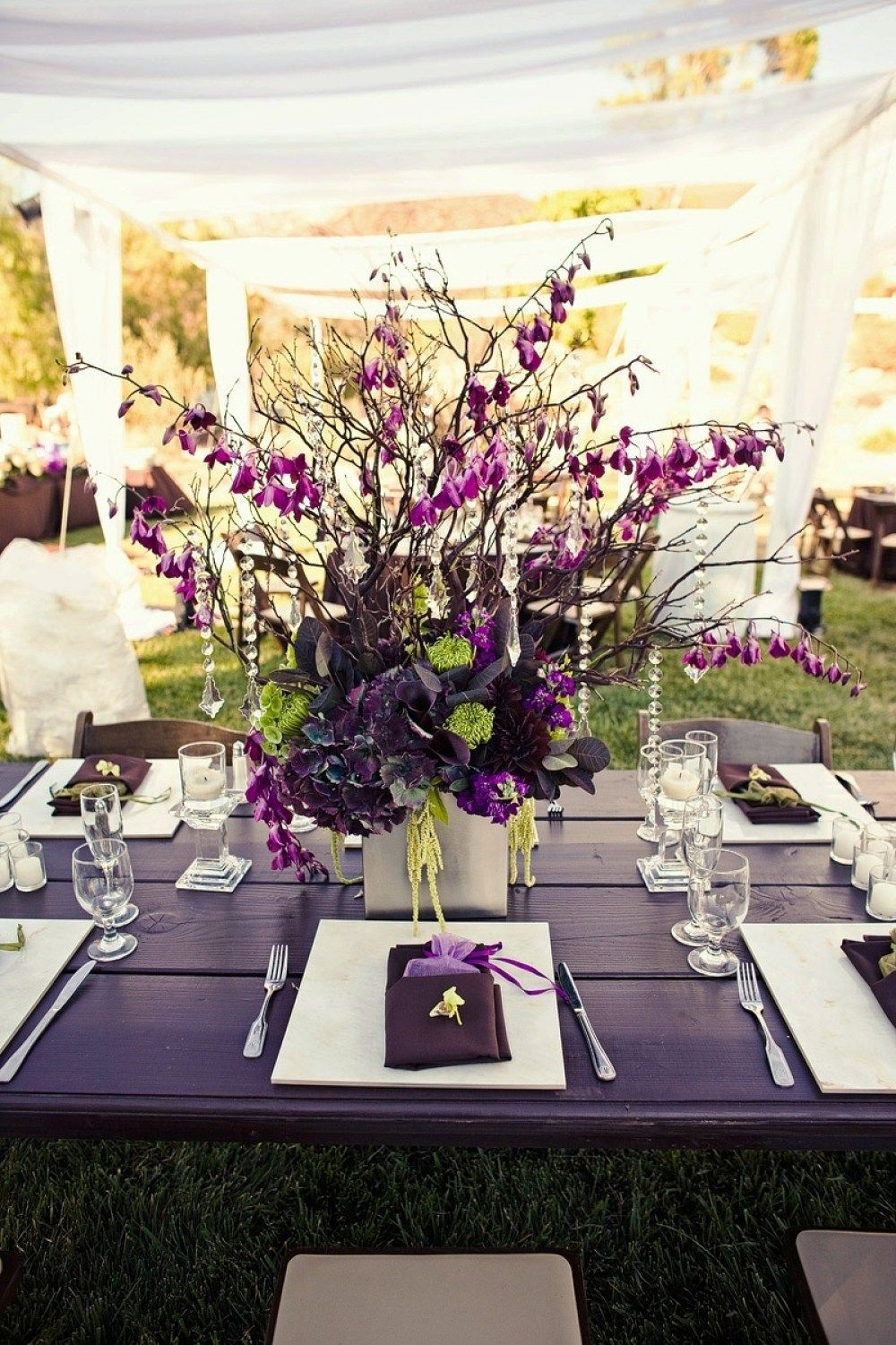 32 Purple And White Decoration For Wedding Wedding And Weddings