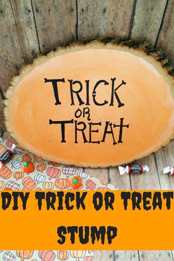 Handmade Halloween home decor craft DIY Halloween art idea - halloween arts and crafts decorations