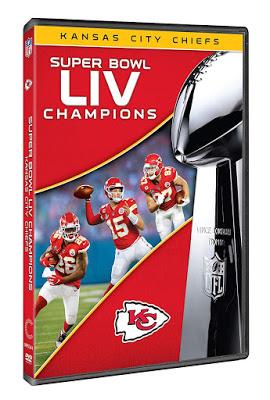 Dvd Blu Ray Super Bowl Liv Champions Kansas City Chiefs 2020 Super Bowl Kansas City Chiefs Kansas City