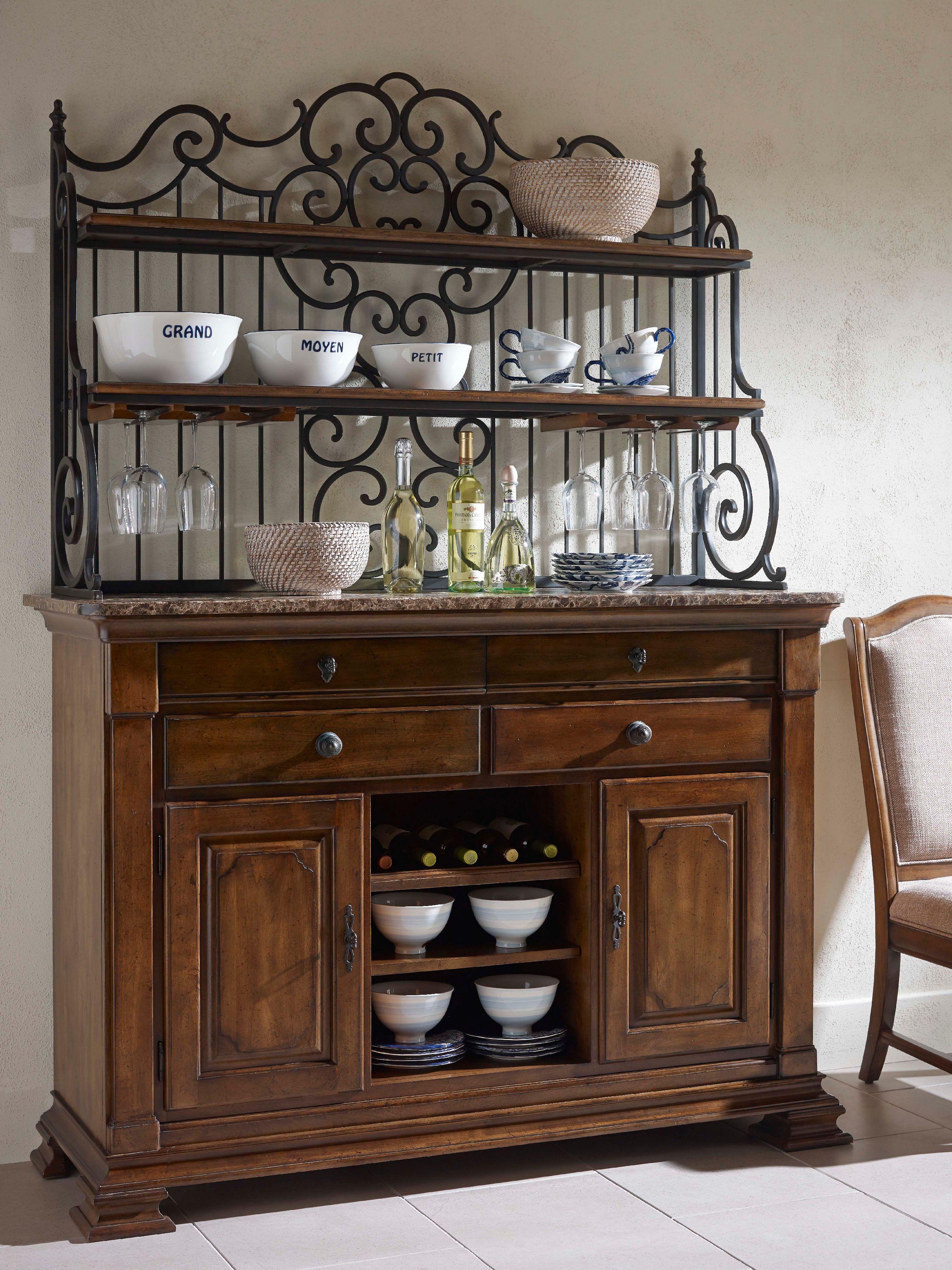 Kincaid Furniture Dining Room Bakers Rack 95 091