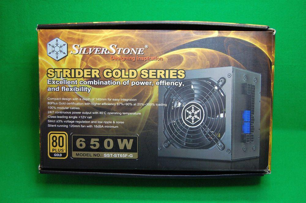 PC ATX Gaming Netzteil Silverstone Strider Gold 80+ , 650 Watt, SST ...