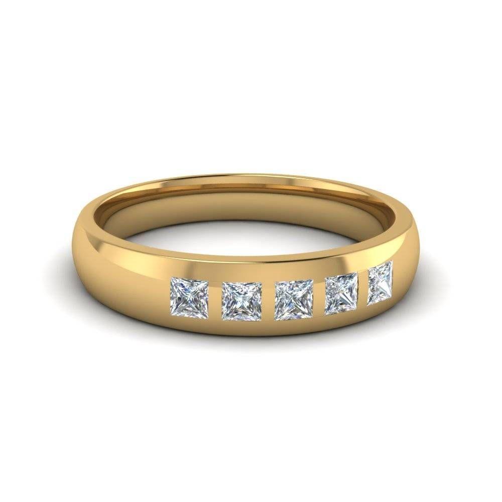 15 Fotos Herren Gelb Gold Trauringe Mit Diamanten Verlobungsringe