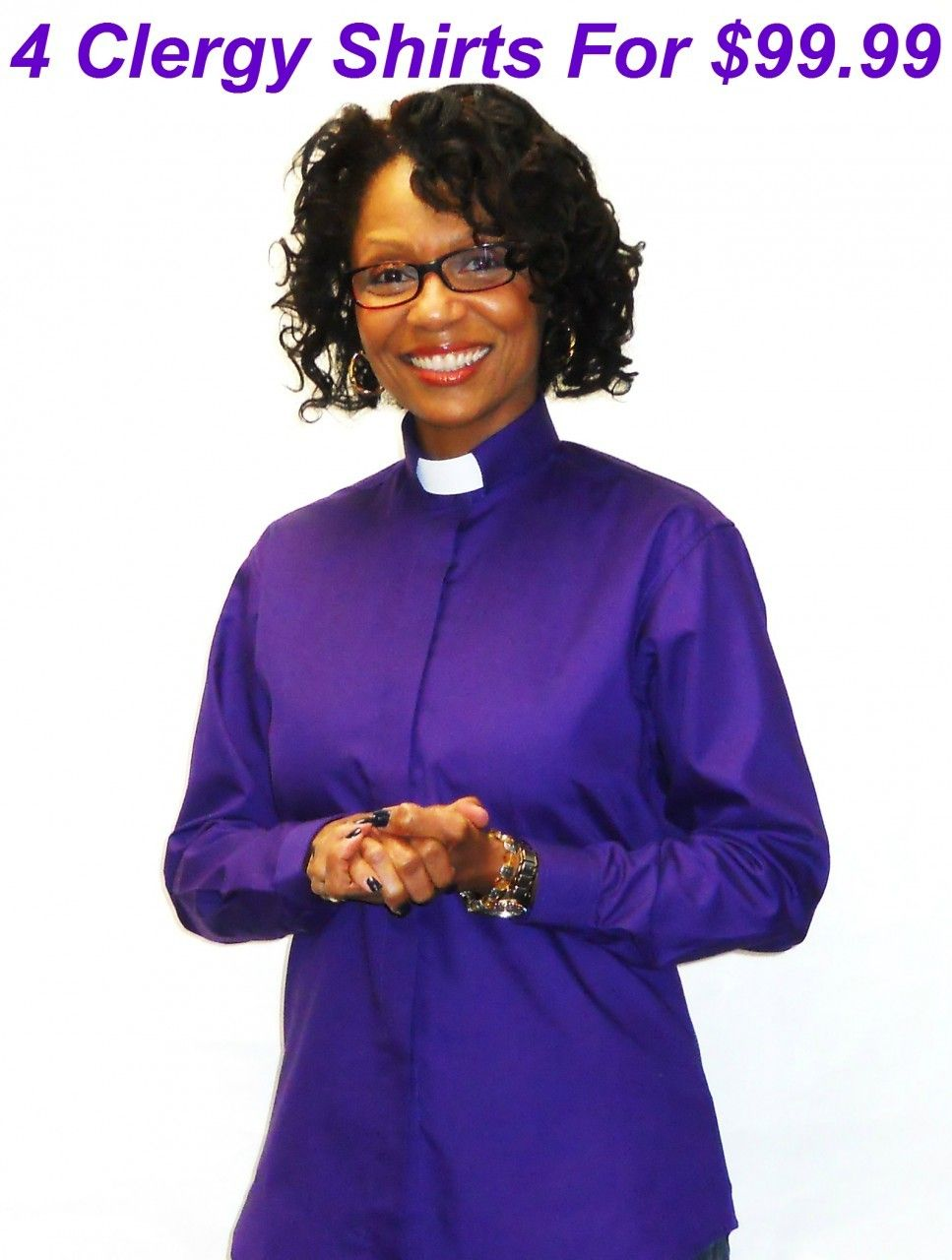 SUPER SALE  4 Women s TAB Collar Clergy Shirts For  99.99 - Divinity Clergy  Wear c8185bd9c