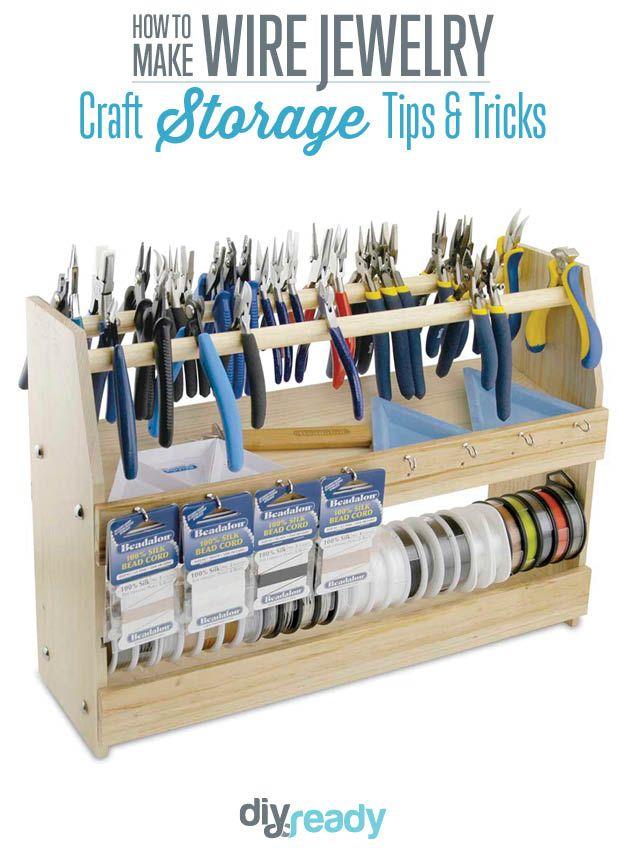 DIY Organizer Ideas DIY storage Storage ideas and Storage