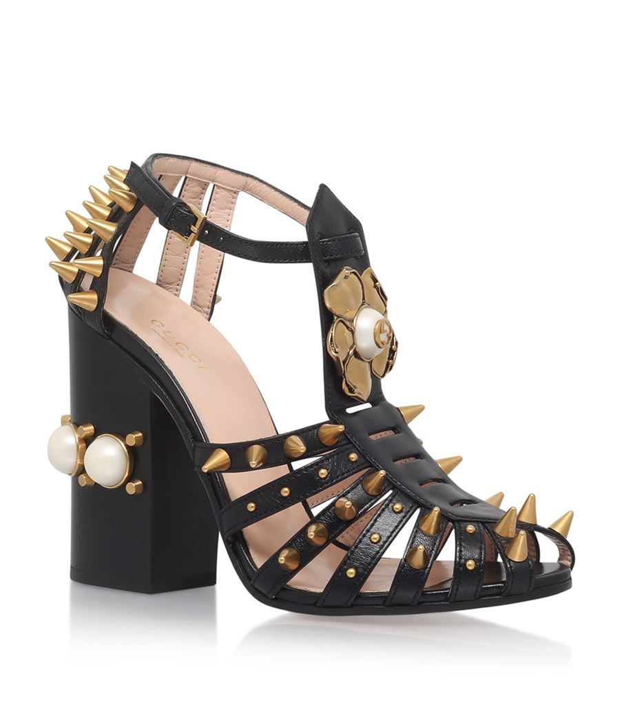 Gucci Kendall Studded Sandals 110 | Harrods
