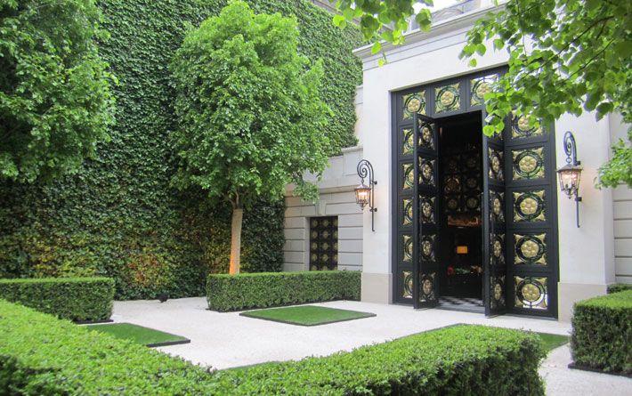 Abercrombie Paris Quincy Hammond Landscape Architect Garden Design Modern Garden Garden Hedges