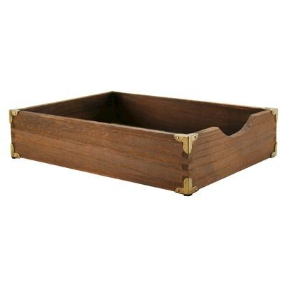 Letter Tray Wood Threshold Letter Tray Wood Crate Shelves