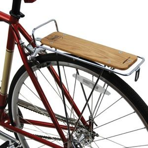Wald Woody Rear Rack Silver Bicycle Rear Rack Rear Bike Rack