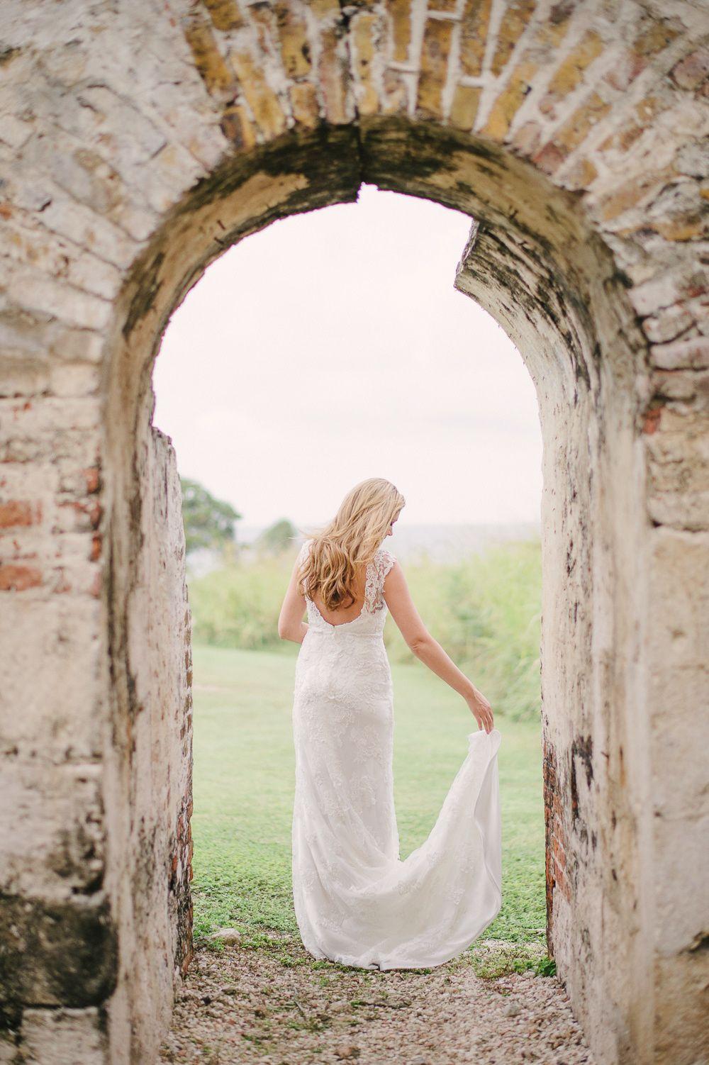 Jamaica Destination Wedding in an Ancient Aqueduct
