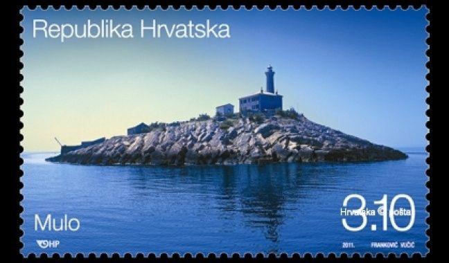 Najljepsa Hrvatska Postanska Marka Svjetionik Mulo Deniz Feneri Pul Fotograf