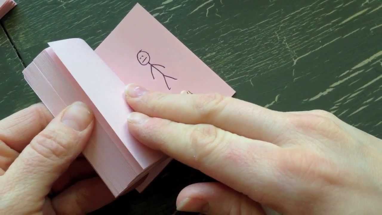 How to make a flip book animation flip book animation