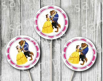 Beauty and the Beast Deluxe Party Pack by MissFrightsDelights