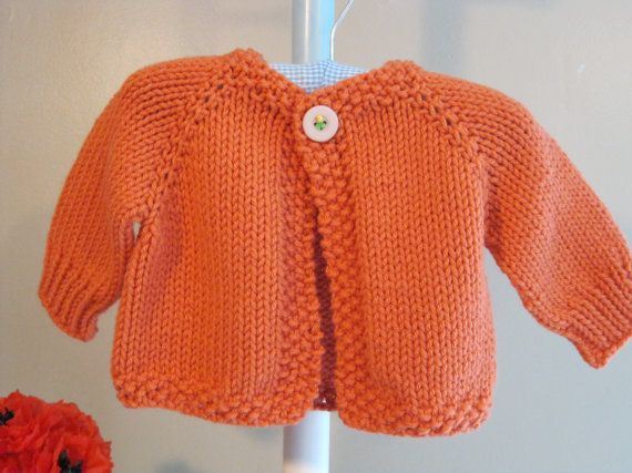MELANIE\'S CARDIGAN......knitting pattern for a baby sweater ...