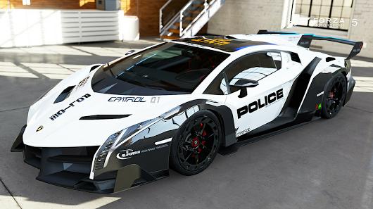 Police Car veneno, Super cars
