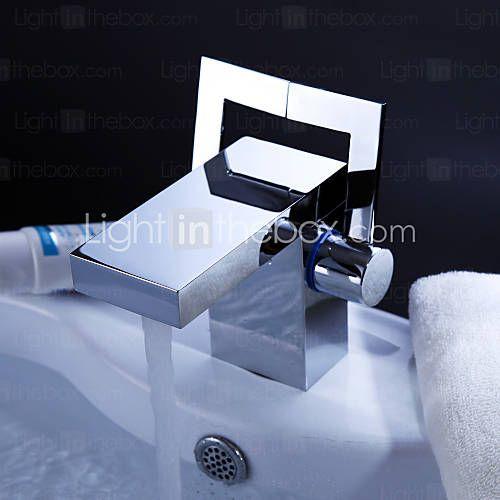 Chrome Finish Post Modern Bathroom Sink Faucet Usd 84 99