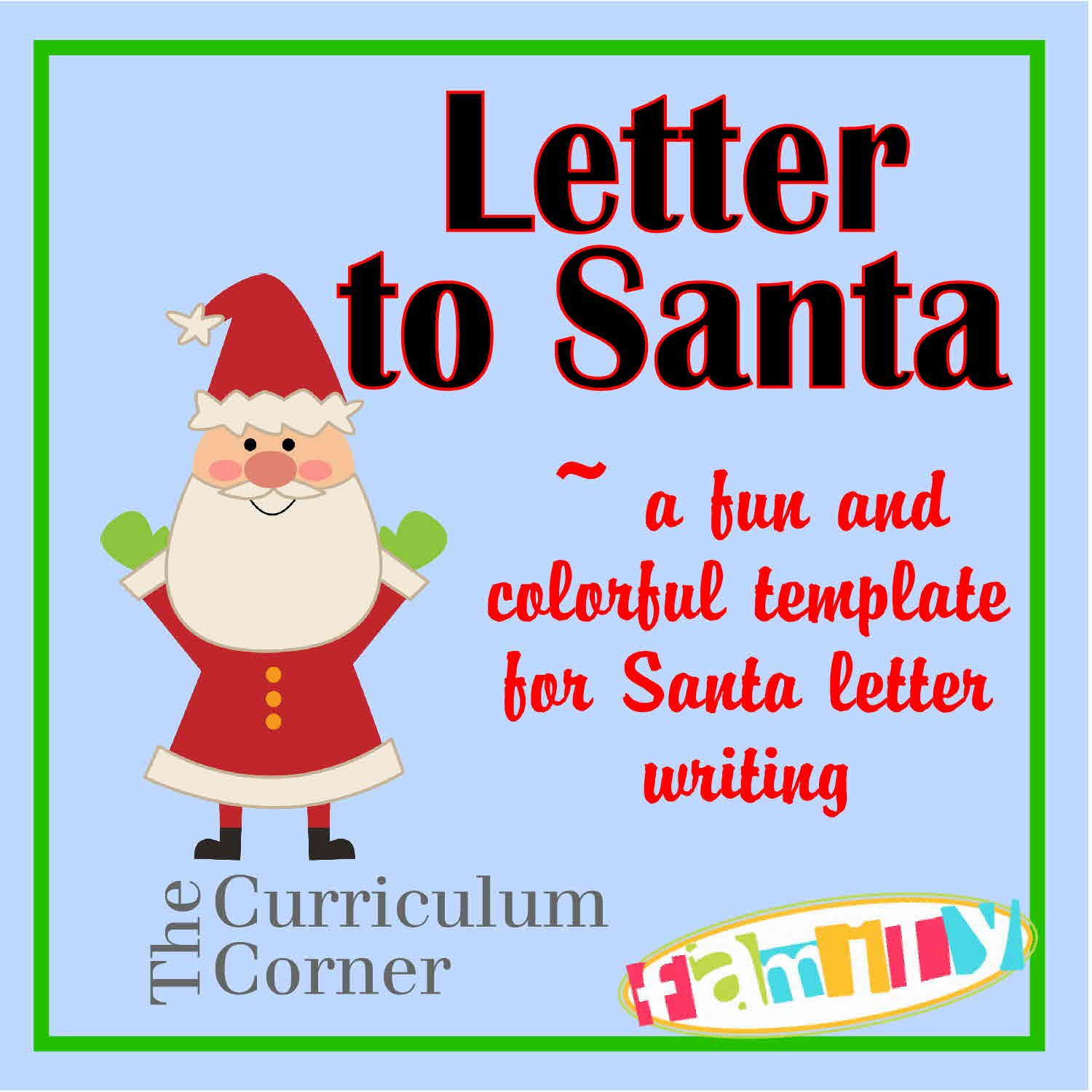 Printable letter from santa free printable letter templates blank letter to santa christmas printables santa letter spiritdancerdesigns Choice Image