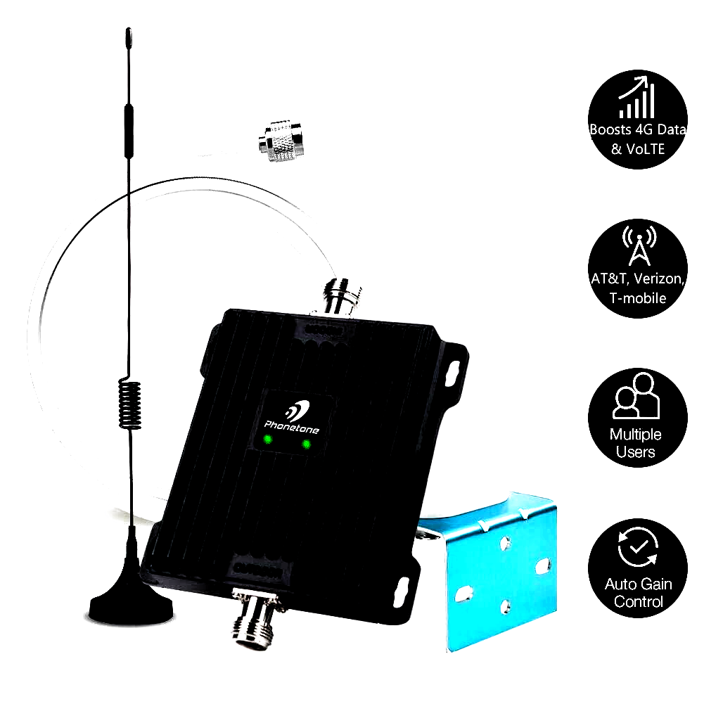 Photo of Price:US $299.99 !Phone 4G-V PT1500 LTE home multiple devices signal booster for…
